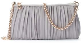 Lauren Conrad Lili Chiffon Pleated Clutch