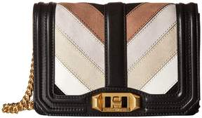 Rebecca Minkoff Small Love Crossbody Cross Body Handbags - TAUPE MULTI - STYLE