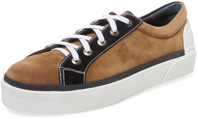 Lanvin Men's Two-Tone Low Top Sneaker