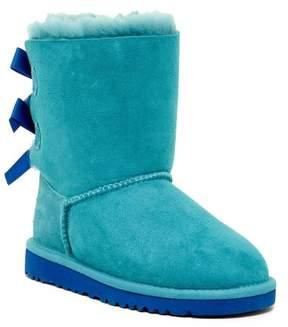 UGG Genuine Sheepskin Bailey Bow Classic Boot (Little Kid & Big Kid)