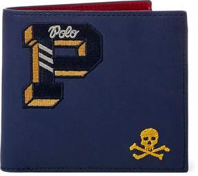 Ralph Lauren Embroidered Leather Wallet
