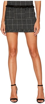 Bishop + Young Tweed Mini Skirt Women's Skirt