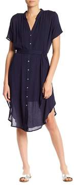 Dee Elly Button Down Midi Dress