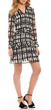 Isaac Mizrahi Imnyc IMNYC Tiered Ruffle Long Sleeve Dress