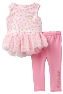 Juicy Couture Sequin Tunic & Leggings Set (Baby Girls 3-9M)