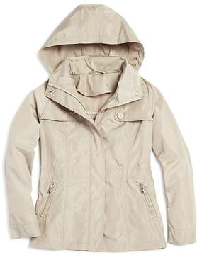 Aqua Girls' Hooded Rain Jacket, Big Kid - 100% Exclusive