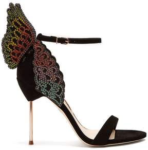 Sophia Webster Evangeline butterfly-wing suede sandals