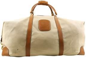 Ghurka Beige Cotton Travel Bag