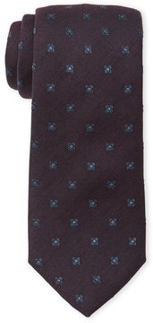Altea Floral Pattern Wool Tie