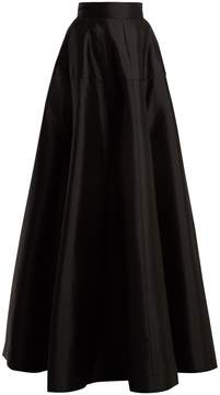 Amanda Wakeley Atelier wool-blend satin maxi skirt