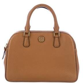 Tory Burch Robinson Double-Zip Satchel - BROWN - STYLE