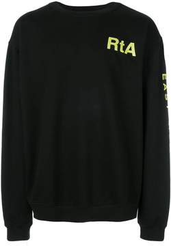 RtA Rehab print sweatshirt