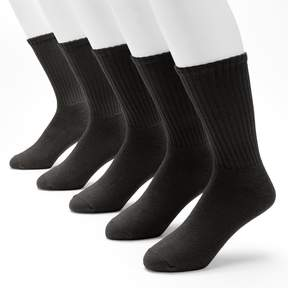 Croft & Barrow Men's 5-pack Cushioned Crew Socks