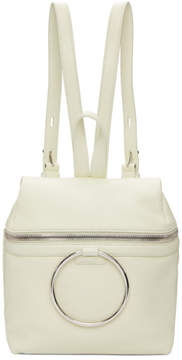 Kara SSENSE Exclusive White Small Ring Backpack
