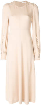 Chloé long sleeved midi dress