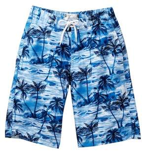 Trunks Surf and Swim CO. Tropical Board Shorts (Big Boys)