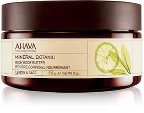 Ahava Mineral Botanic Rich Body Butter Lemon & Sage