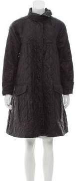 Dries Van Noten Quilted Button-Up Jacket