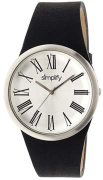 Simplify The 2000 Leather-band Watch.