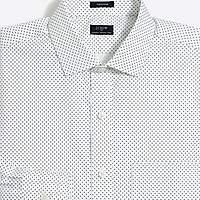 J.Crew Factory Patterned flex wrinkle-free Voyager dress shirt