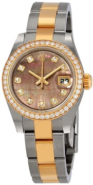 Rolex Datejust Automatic Diamond Ladies Watch