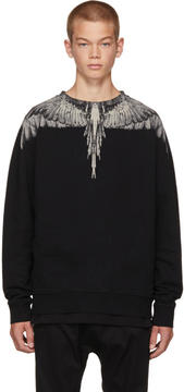 Marcelo Burlon County of Milan Black Jen Sweatshirt