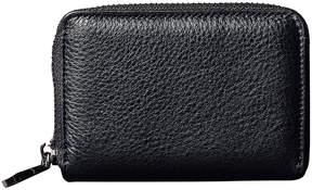 Christopher Kon Black Mini Leather Wallet