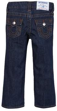True Religion Straight Leg Single End Jeans (Toddler & Little Boys)