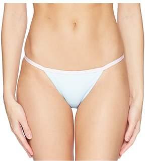 Bikini Lab THE Pop Art Pineapple Banded Hipster Bikini Bottom Women's Swimwear
