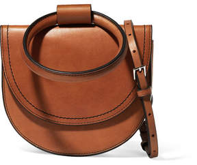 Theory Whitney Leather Shoulder Bag - Tan