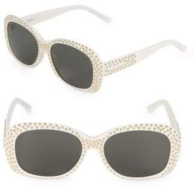 Saint Laurent 57MM Oval Sunglasses