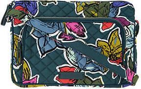 Vera Bradley Signature Print Iconic RFID Little Hipster Crossbody Bag