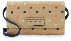Zac Posen Earthette Polka Dot Chain Wallet