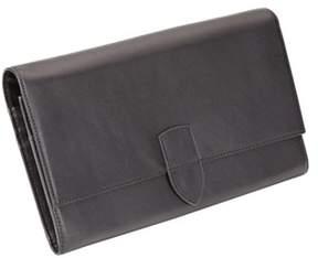 Royce Leather Unisex Diplomat Passport Wallet 330-5.