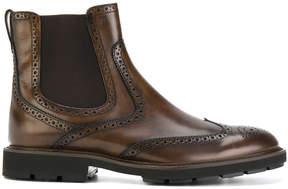 Tod's Tronchetto brogue boots