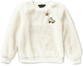 Xtraordinary Big Girls 7-16 Patches Pullover Sweater