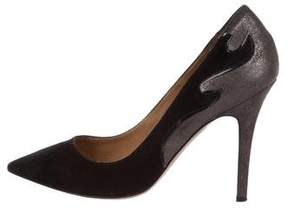 Etoile Isabel Marant Suede Pointed-Toe Pumps