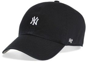 '47 Women's Abate Clean Up Ny Yankees Ball Cap - Black