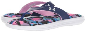 Under Armour UA Marbella Floral V Thong Women's Shoes