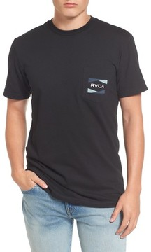 RVCA Men's Nation 2 Graphic Pocket T-Shirt