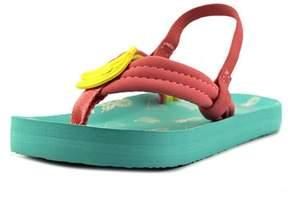 Reef Little Ahi Fruits Toddler Open Toe Synthetic Pink Flip Flop Sandal.