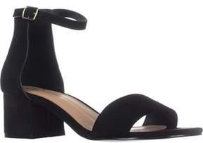 XOXO Horatio Ankle-strap Sandals, Black.