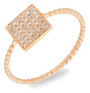 Bony Levy Women's Aurora Diamond Pave Square Ring (Nordstrom Exclusive)