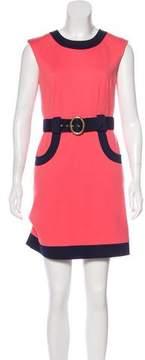 Trina Turk Sleeveless Mini Dress