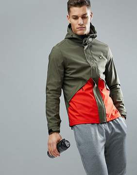 Lyle & Scott Fitness Norton Windbreaker In Green