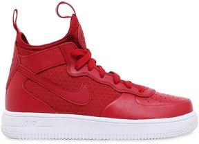 Nike Force 1 Ultraforce Faux Leather Sneakers
