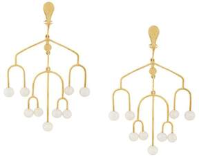 Aurelie Bidermann Sirocco chandelier clip-on earrings