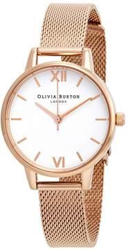 Olivia Burton White Dial Ladies Watch