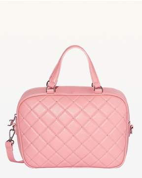 Juicy Couture Norwood Blush Leather Crossbody Bag