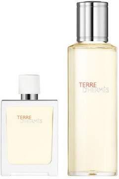 Hermes Terre d'Hermès Eau Très Fraîche, 1 oz./ 30 mL + 4.2 oz./ 124 mL refill